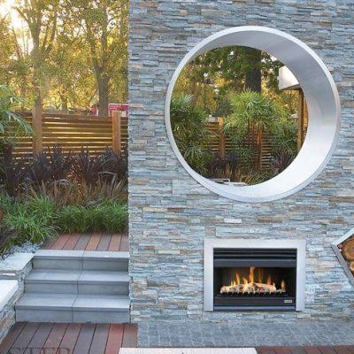 Open Wood Fire