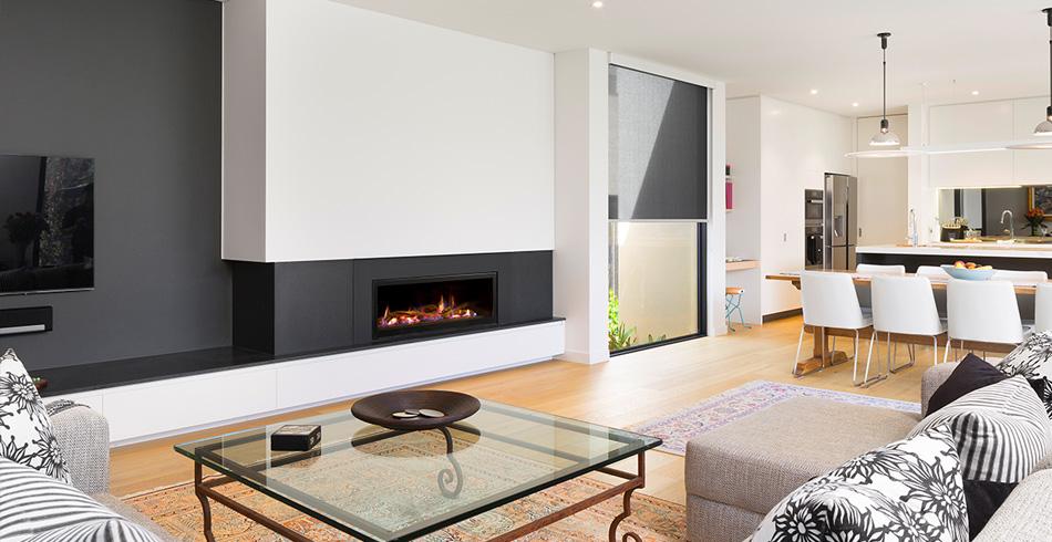 Heatmaster Seamless Gas Fireplace Brisbane Fireplace