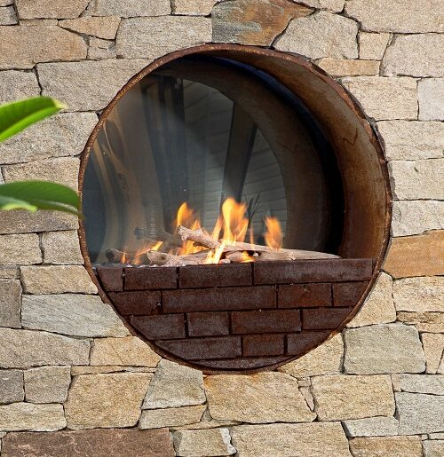 Real Flame - Pit Fires
