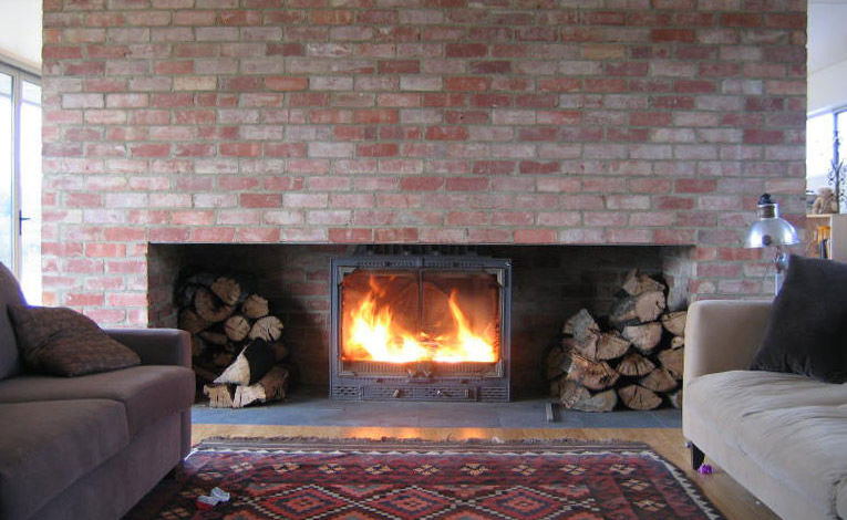 Radiante 1000 Single Front View Brisbane Fireplace