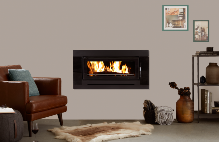 Kent Fairlight Insert Wood Fire Brisbane Fireplace